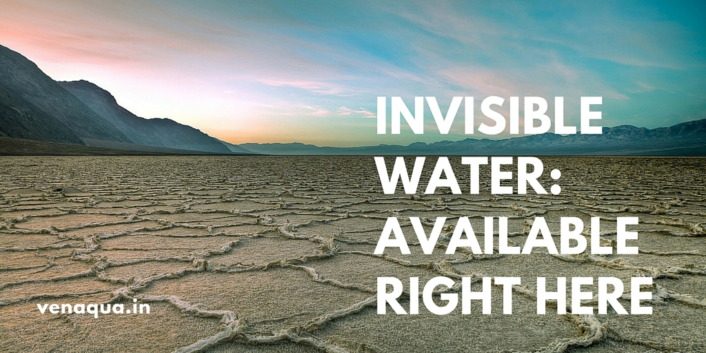 INVISIBLE WATER_AVAILABLE RIGHT HERE